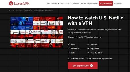 ExpressVPN - Netflix