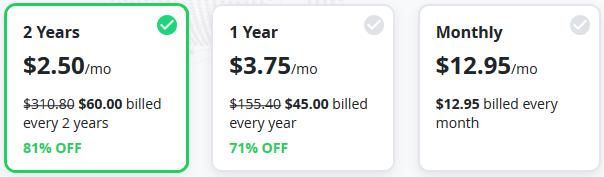 VyprVPN - Pricing