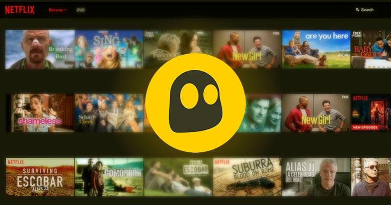 CyberGhost - Netflix